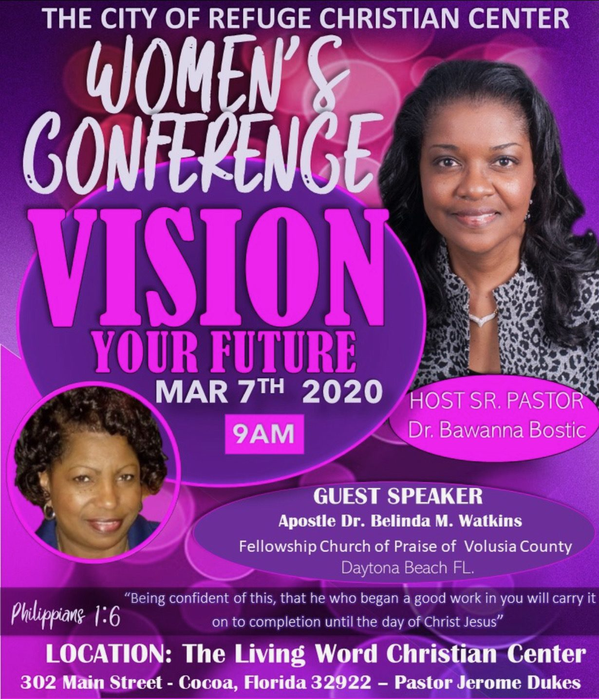 2020 City of Refuge Women's Conference